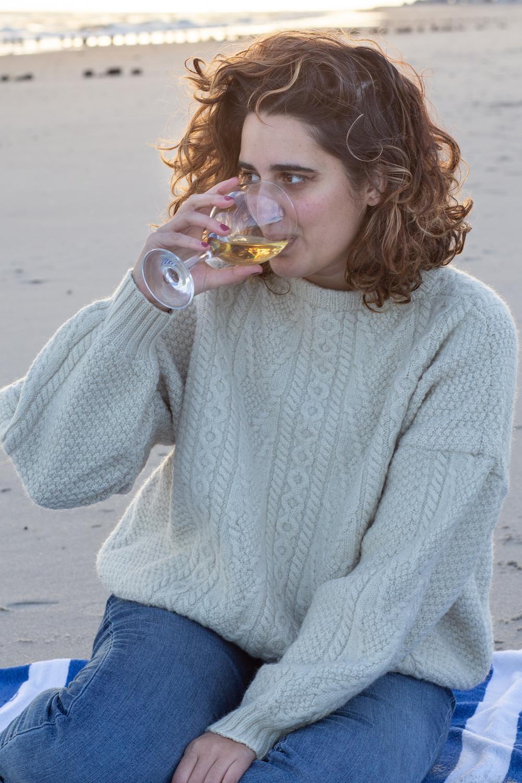 Nancy Meyers But Make It Gay: Wearing a Chunky Beach Sweater When