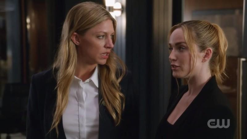 Sara flirts with Ava