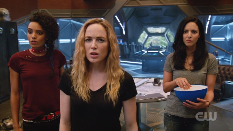 the girls look confused and surprised