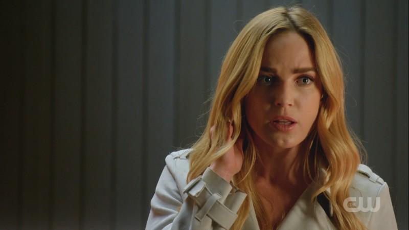 Sara talks over her comm