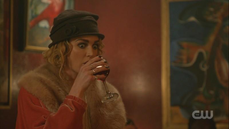 Sara drinks desperately