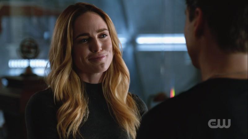 Sara smiles