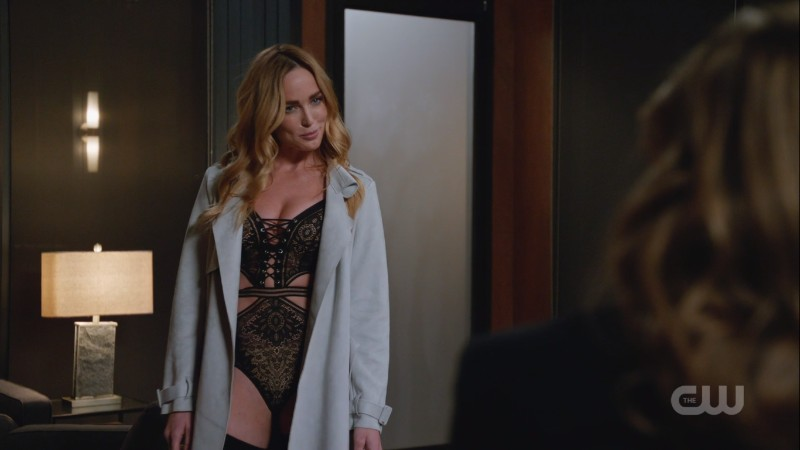 SARA IS IN LINGERIE