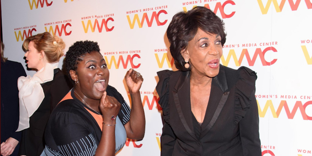 No Filter: Danielle Brooks Meeting Maxine Waters Is a Mood