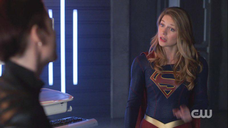 Kara looks argumentative