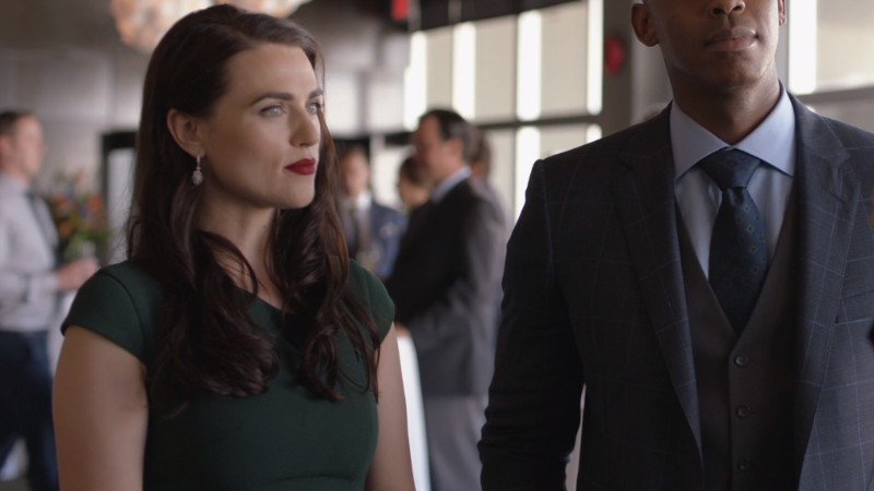 Lena looks pissed to see Ben