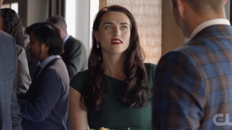 Lena looks OVER this guy.