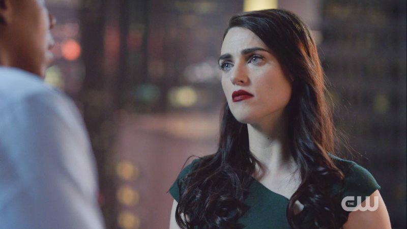 Lena looks like a doll. A sad, sad doll.