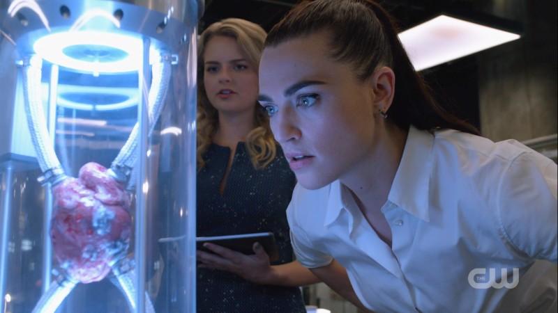 Lena glares at science