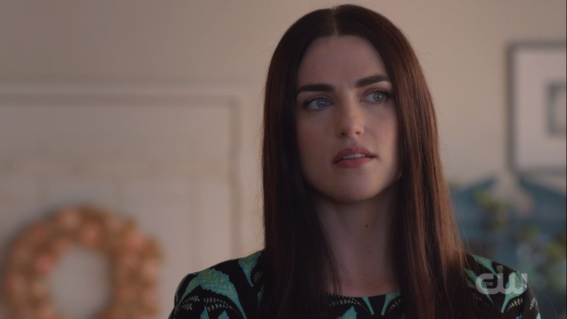 Lena looks like she's considering playing god