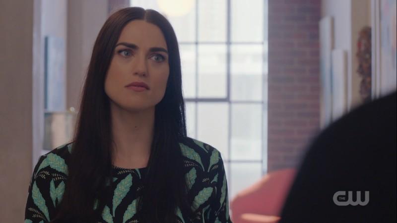 Lena looks over it