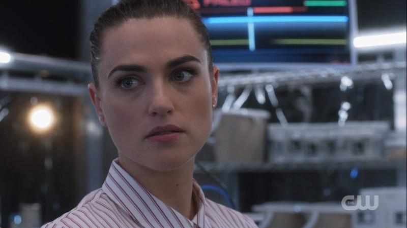 Lena lookin' good, ready to science