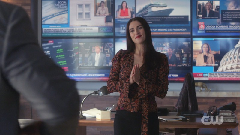Lena is proud of the suit jacket she bought James