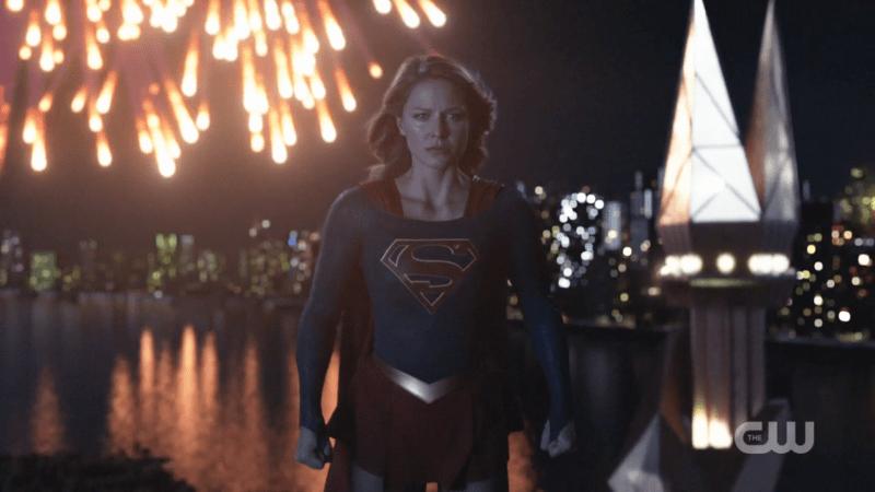 Supergirl flies free