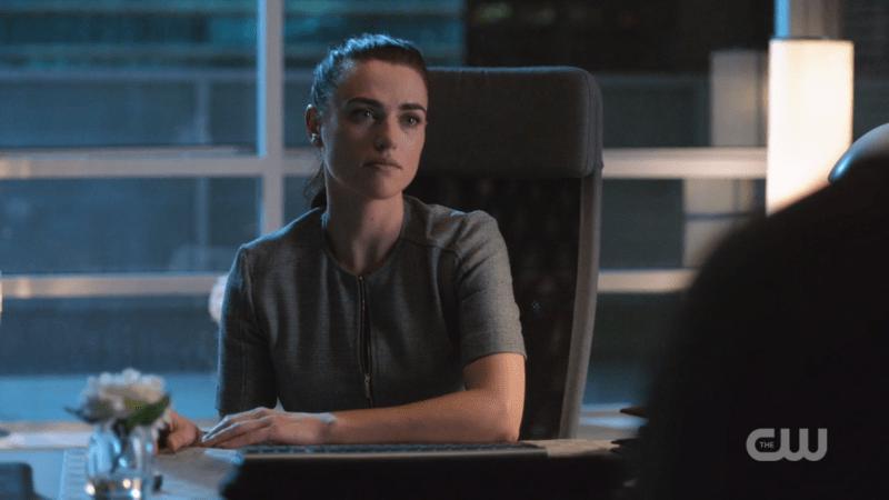 Lena listens to James