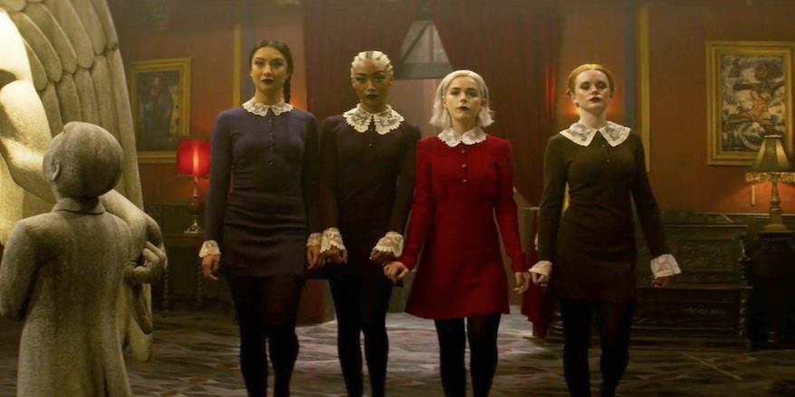 Sabrina Spellman Weird Sisters Dress 5