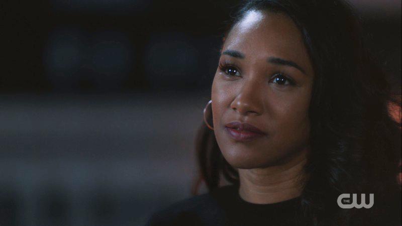 Iris sheds a single tear