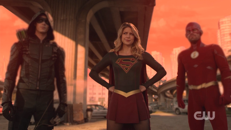 arrow, supergirl, flash