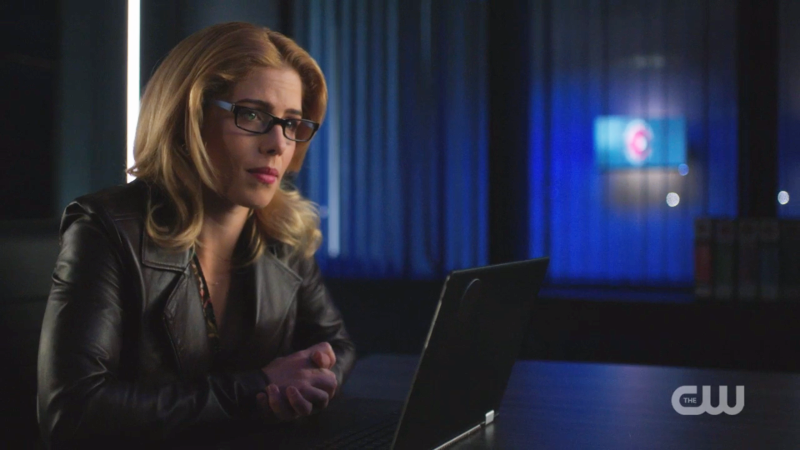 Felicity listens