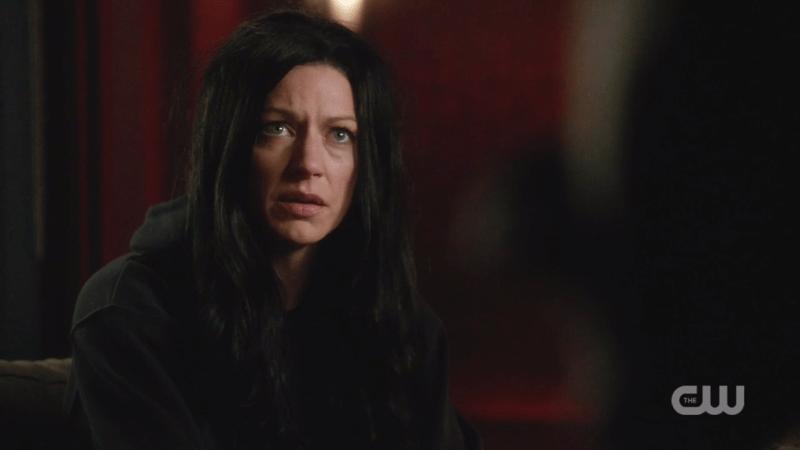 Ava looks distraught