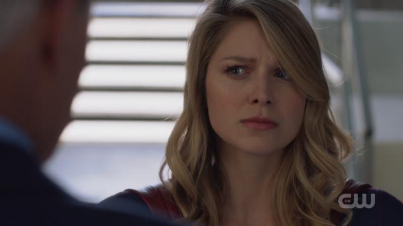 Supergirl stands her ground