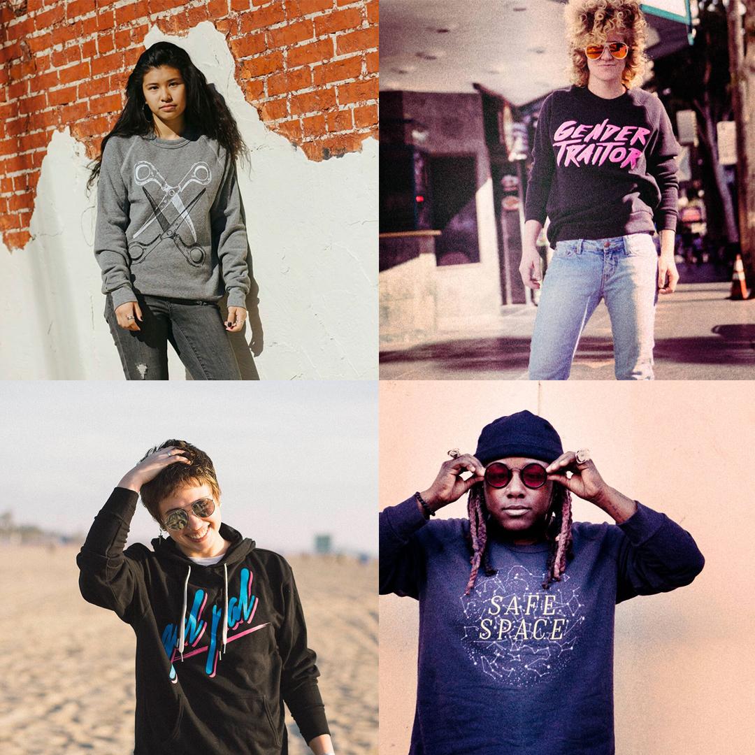 Autostraddle Store Merch - Sweatshirts