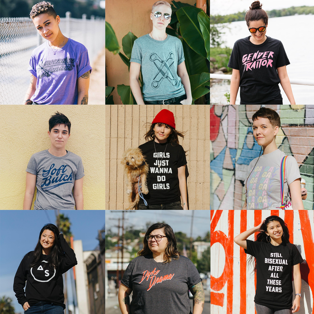 Autostraddle Store Merch - Tees