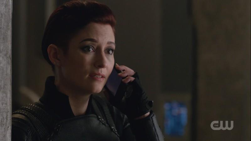 Alex on the phone with Kara