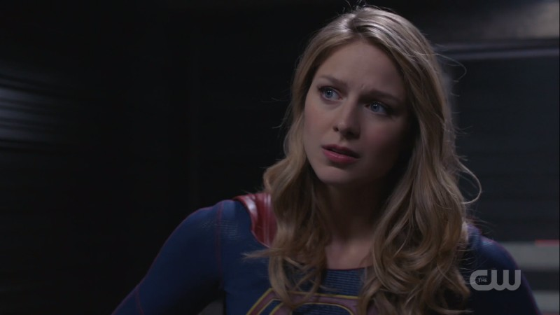 Supergirl so serious