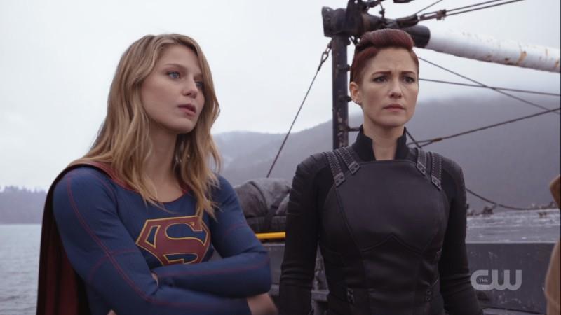 supergirl and alex