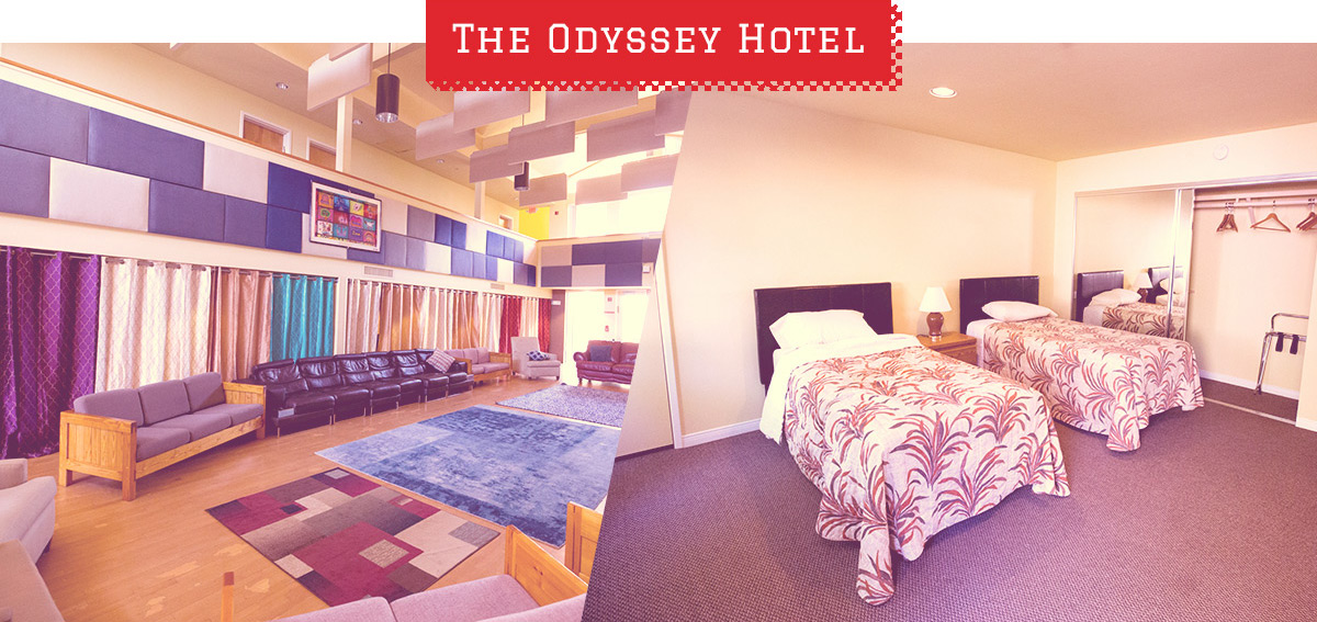 the Odyssey Hotel