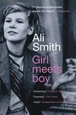 "Cover art of Ali Smith's ""Girl Meets Boy"""