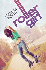 """Books with lesbian sex: Cover of Vanessa North's """"Roller Girl,"""""""