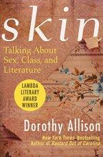 "Books with lesbian sex: Cover art of Dorothy Allison's ""Skin,"""