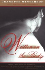 """Books with lesbian sex: Cover art for Jeanette Winterson's """"Written on the Body,"""""""