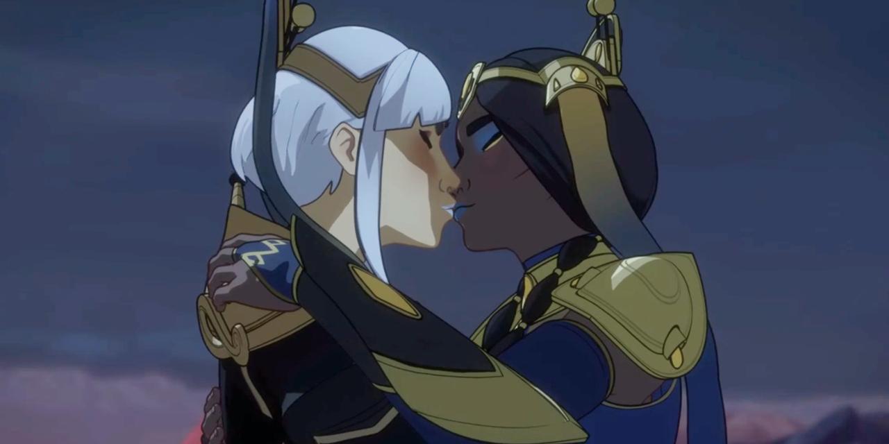 Necessary cartoon kissing lesbian very
