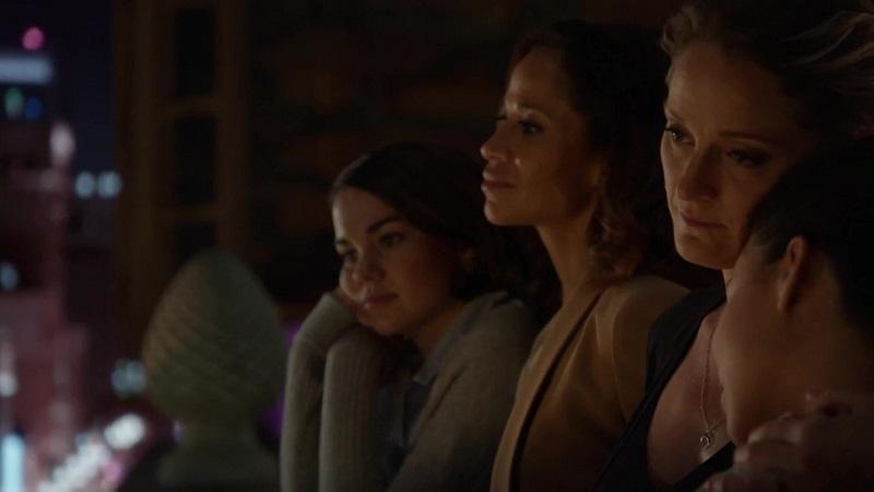 Callie, Mariana and their Mamas