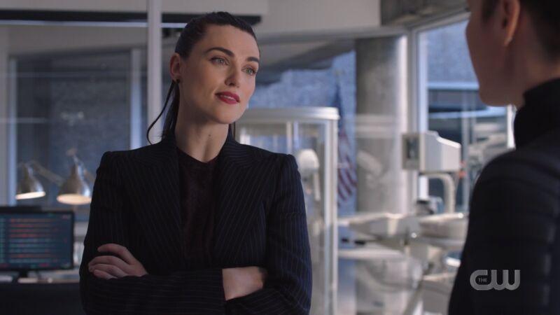 Lena Luthor looked so goddamned fine