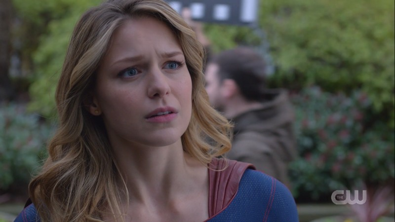 Kara looks resolved