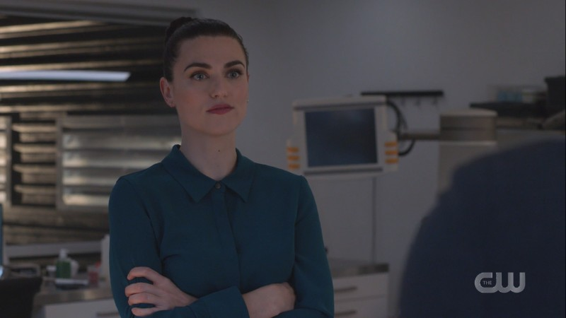 Lena crosses her arms angrily at Haley