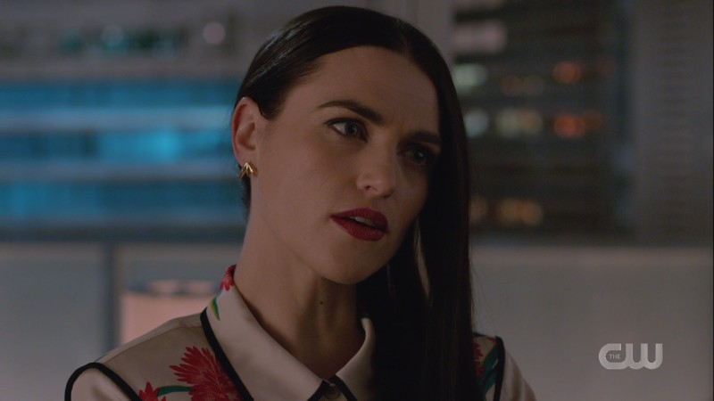 Lena listens to Lex spin his web of lies