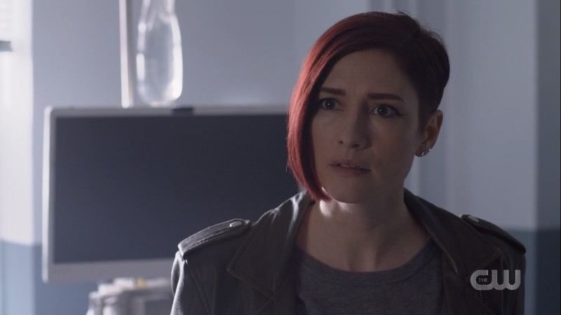 Alex looks concerned as she thinks about Lena