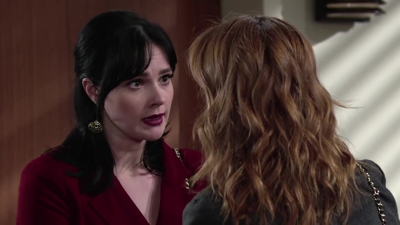 Tessa rushes to the courthouse to reunite with her love.
