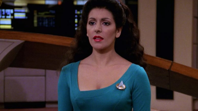 Deanna troi dildo fuck for that