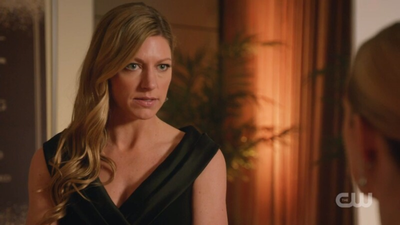 Ava looks sternly back at Sara