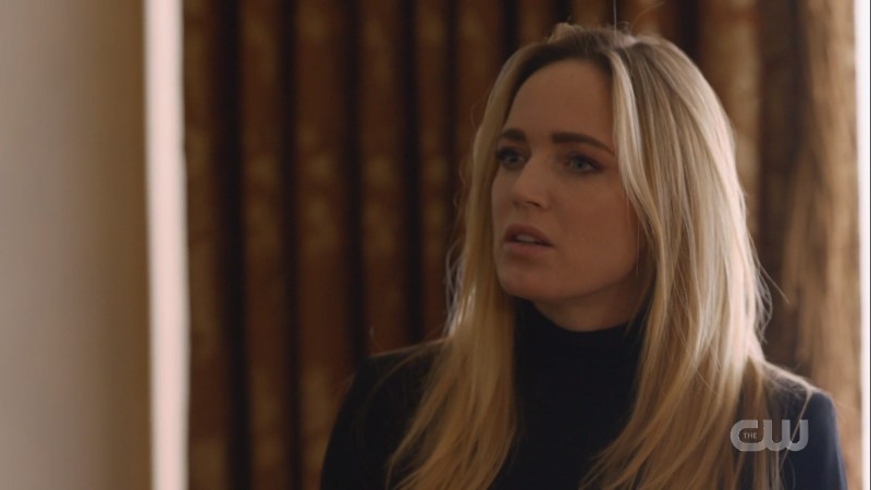 Sara Lance looks very attractive and it's rude