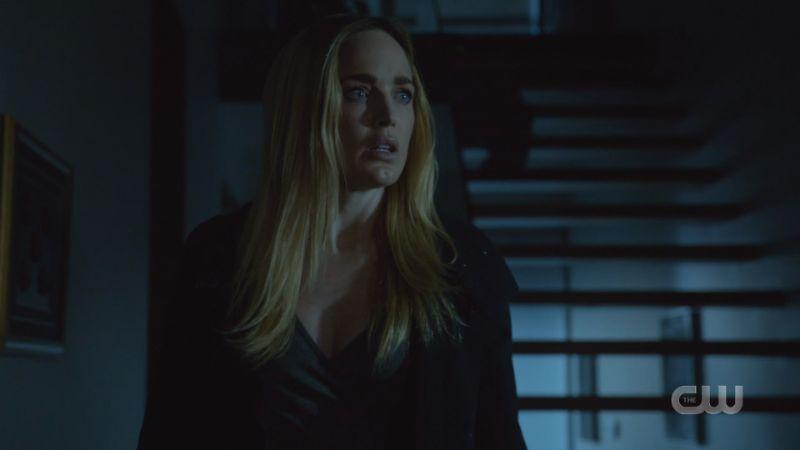 Sara looks panic-stricken