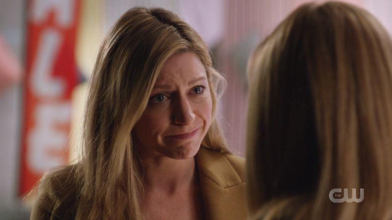 Ava smirks lovingly at Sara