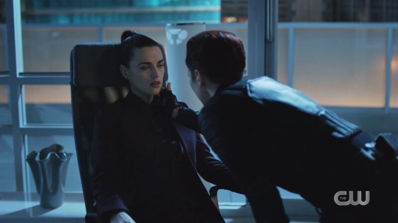 Alex checks Lena's pulse