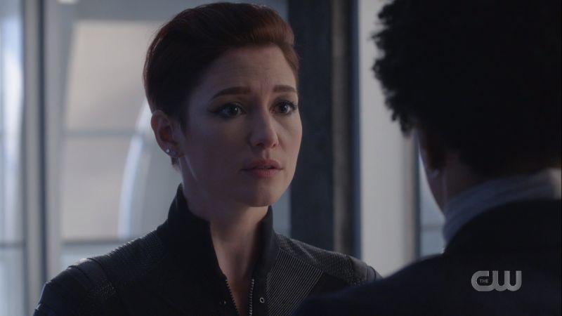 Alex looks like she regrets her words